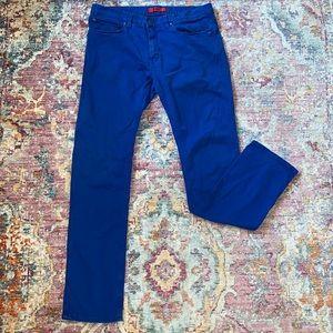 Blue HUGO Hugo Boss Men's Jeans. Size 32/32.